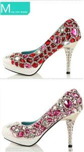 Wholesale JIUMU Bling Sequin High Heel Bridal Wedding Shoes - DinoDirect.com