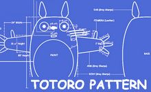 Totoro Pattern by stephanrover: Awesome! #DIY #Totoro_Pattern