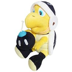 Mario Bro: 8-inch Koopa Bomber Bro Plush >>> You can get more details by clicking on the image. (This is an affiliate link) #Puppets