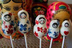 Beautiful cake pops.