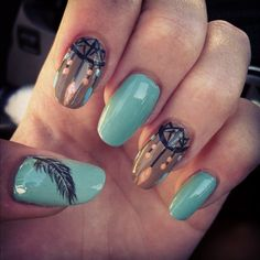 dream catchers - Nail Art Gallery by nailsmag.com