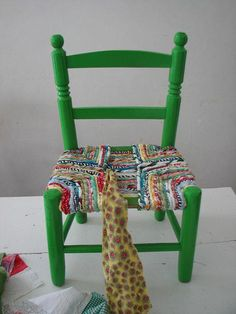 Diy How To Weave A Chair Seat Excellent Tutorial Shows How To