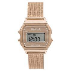 7b02eeb41c7 Relógio Touch Vintage Mesh Rose - TWJH02AG 4T - TouchWatches