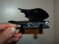 Clothespin Toothless magnets/bag clip party favors.
