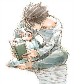 Ryuzaki,L & Near,Nate River - Death Note,Anime