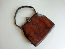 Art Deco Arts & Crafts Vintage 1930's Leather Purse  $46  http://www.rubylane.com/item/676693-A662/Art-Deco-Arts-Crafts-Vintage