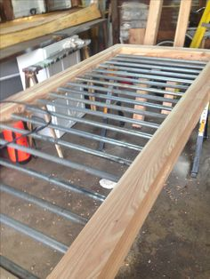 """railings made from 3/4"""" electrical conduit"""