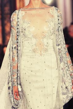 Last season but gorge!!! Zuhair Murad spring 2013 #weddings #bridal gowns 2013 #hawaiiprincessbrides