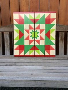 Complementary colors - Barn Quilts by Chela Barn Quilt Designs, Barn Quilt Patterns, Quilting Designs, Block Patterns, Painted Barn Quilts, Barn Signs, Barn Art, Square Quilt, Quilt Making