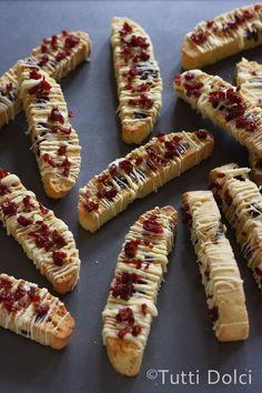 Cranberry-Orange Biscotti | Tutti Dolci