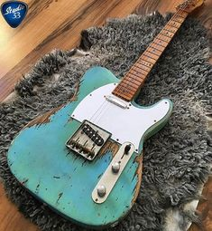 Happy #TeleTuesday! What do you think of this heavy relic #telecaster from @jockesgitarrshop #guitar #tele #studio33guitar