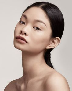 Most of us own a liquid foundation or two (or three or four), but if you're looking for an easier, more convenient way to get coverage, then it's time to turn your attention to stick foundations. Perfect Makeup, Perfect Skin, Makeup Looks, Face Makeup, Face Reference, Beauty Shots, Interesting Faces, How To Apply Makeup, Beauty Industry