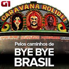 Bye Bye Brasil, três décadas depois. Série especial refaz a rota da Caravana Rolidei, do filme de Cacá Diegues, que mostrou a 'modernidade' chegando ao sertão do país no final dos anos 1970 por meio das antenas de TV. http://glo.bo/1QJb4so #G1 #cinema #TV