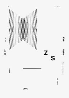 Awesome type based posters by Geneva based designers David Mamie and Nicola Todeschini.