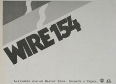 Wire: ad for the US release of 154, December 1979