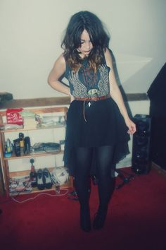 mullet skirt (dont like the name) but think I'm going to try and make one soon...they look fun :)