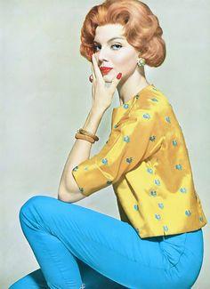 Heather Hewitt in Tina Leser, 1959