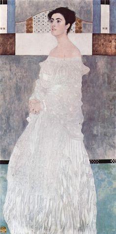 Gustav Klimt | Portrait of Margaret Stonborough-Wittgenstein, 1905