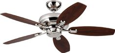 """Monte Carlo Fans 5CQM44PN Centro Max II - 44"""" Ceiling Fan, Polished Nickel Finish Monte Carlo Fans http://smile.amazon.com/dp/B00I2VZV7Q/ref=cm_sw_r_pi_dp_nSYTtb18NK05H3YB. 188$"""