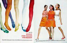 Brazilian Fashion Magazine:Manequim.January 1968.