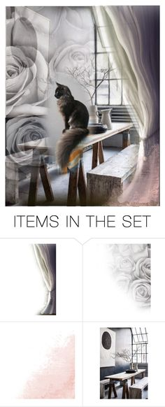 """Yesterday Once More"" by lablanchenoire ❤ liked on Polyvore featuring art"