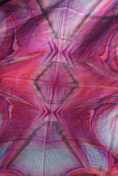 pink batik fabric