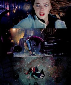 gwen stacy's death is not ok. the amazing spiderman 2