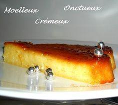Gâteau crémeux à l'ananas   Une Plume dans la Cuisine