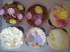 In cupcake box