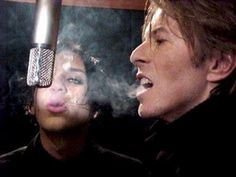 Brian Molko & David Bowie