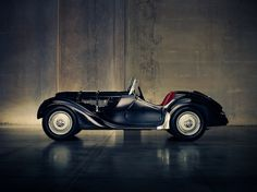 1928 BMW 328 - photograph by Christopher Wilson