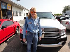 Debra Cook pictured with her SHARP new Dodge Ram 1500 4X4! A BIG thanks from The Auto Group we hope you enjoy your new truck!
