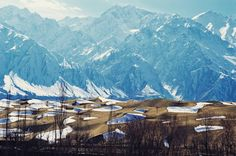 View Of Skardu Desert With Karakoram Mountains In The Background After An Unexpected Snowfall | By RgyalChan Karim [1080x718] : ExplorePakistan