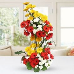 Order Flowers, All Flowers, Glass Vase, Rose, Plants, Pink, Roses, Planters, Plant