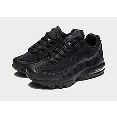 size 40 eebc2 1a5ad Kids' Footwear | JD Sports. Air Max 95 KidsJd SportsAir Max SneakersAll  Black SneakersSneakers NikeHuarachesKid ...