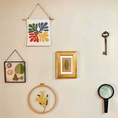 #punch #gallerywall #walldecor #embroidery #embroideryflowers #dryflower #punchneedle #matisse #henrimatisse Henri Matisse, Punch Needle, Dried Flowers, Gallery Wall, Wall Decor, Embroidery, Frame, Collection, Instagram