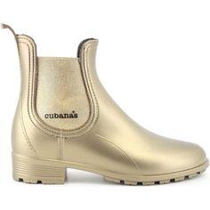 Cubanas Galochas Rainy 400 Gold Ouro 350x350