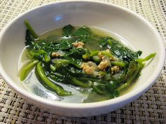 Canh Xà Lách Son (Vietnamese Watercress Soup). I love this soup, it's home to me.