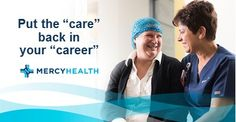 Now Hiring!! Registered Nurse - Rehab Nursing  Mercy Health Paducah KY www.mercy.com