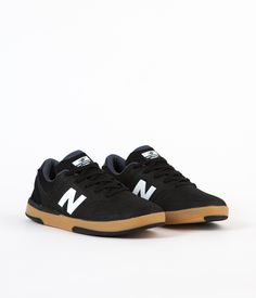 New Balance Numeric PJ Stratford 533 Shoes - Black / White
