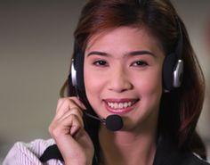 The Beautiful Smile of Customer Support Representative.