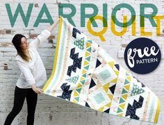 Warrior-Free-Quilt-Pattern
