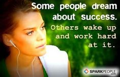 Daily Dose of Fitspiration: Don't just dream about success