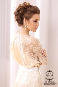 This wedding dress designed by Anne Noelle Bridal and made under ethical condition by Fairsew for every beautiful bride.  #Fairsew #AnneNoelleBridal #EthicalFashion #BeautifulInWhite