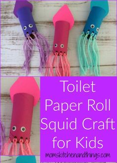 quid toilet paper roll craft - kids craft- recycle craft - acraftylife.com