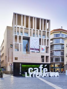 Coffee and Literature Stand by Clavel Arquitectos - Plaza del Cardenal Belluga, Murcia, Spain