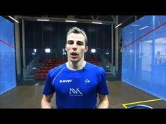 Nick Matthew Squash Coaching Tips Part 7 - The Volley - YouTube
