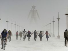 Images from Burning Man 2014 on Black Rock Desert of Nevada.