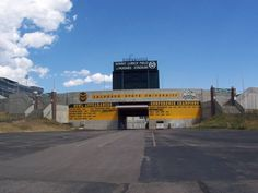 Colorado State University Rams - Sonny Lubick Field at Hughes Stadium - back entrance to stadium