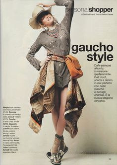 Glamour - May 2013 #Borsalino hat